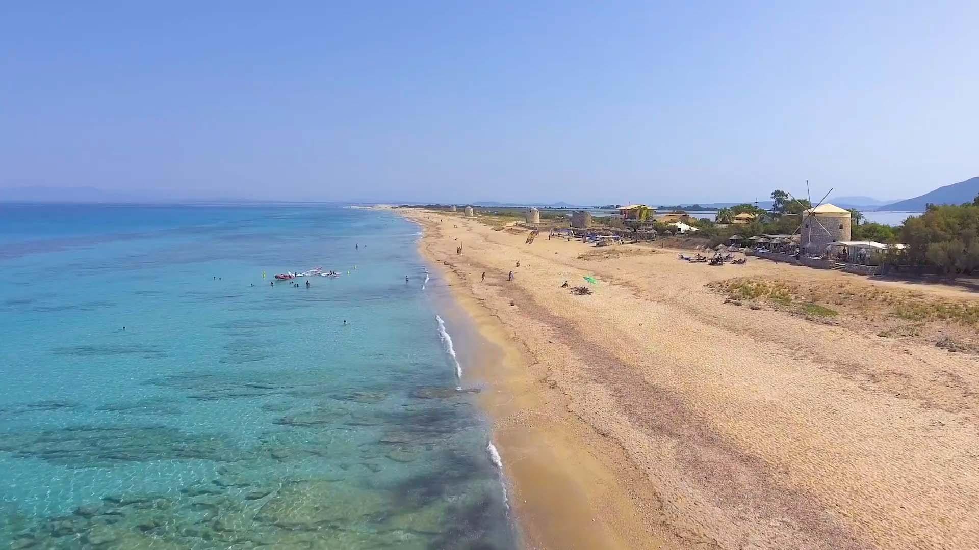Lefkada Agios Ioannis Beach 1