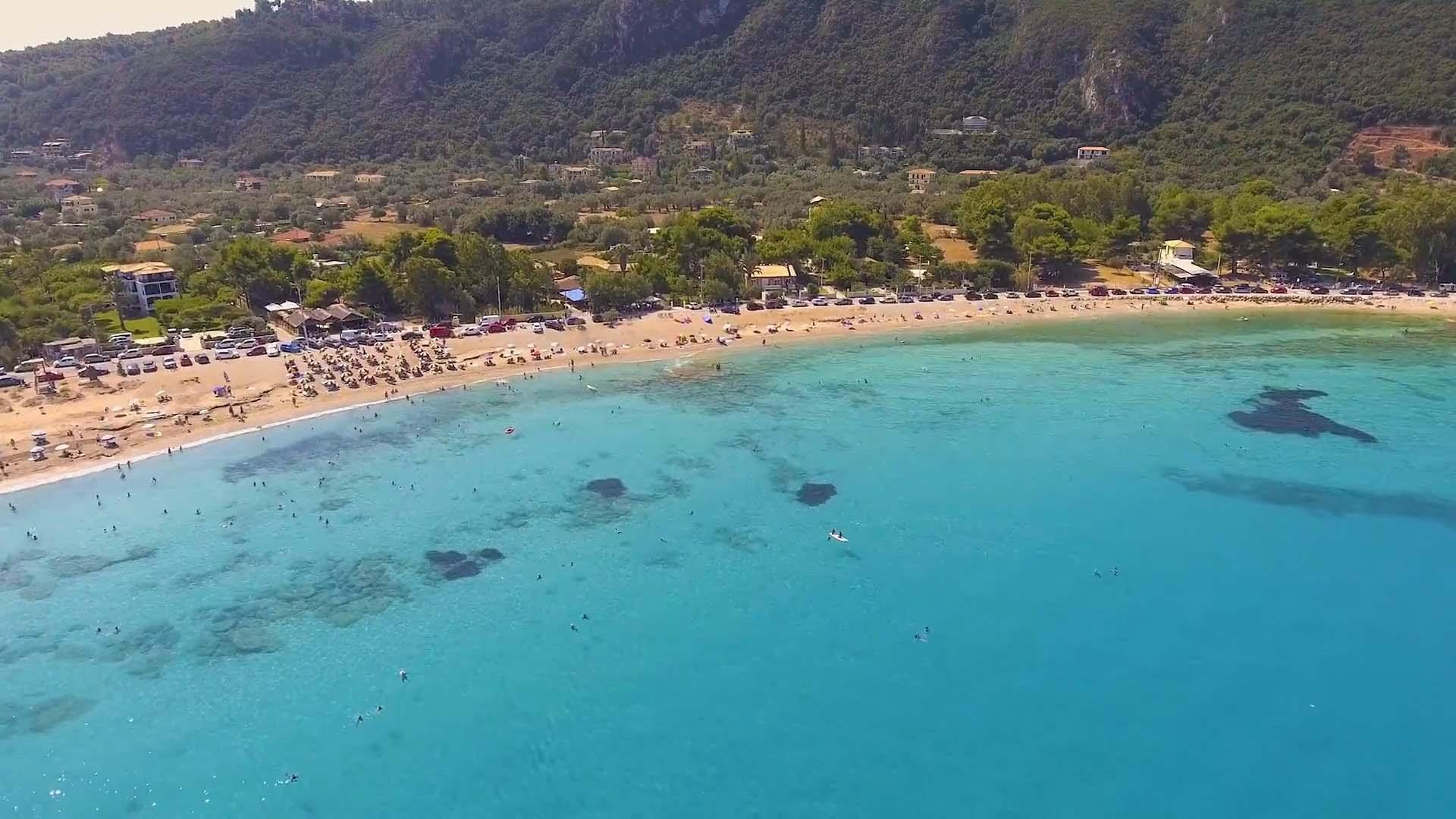 Lefkada Agios Ioannis Beach 2