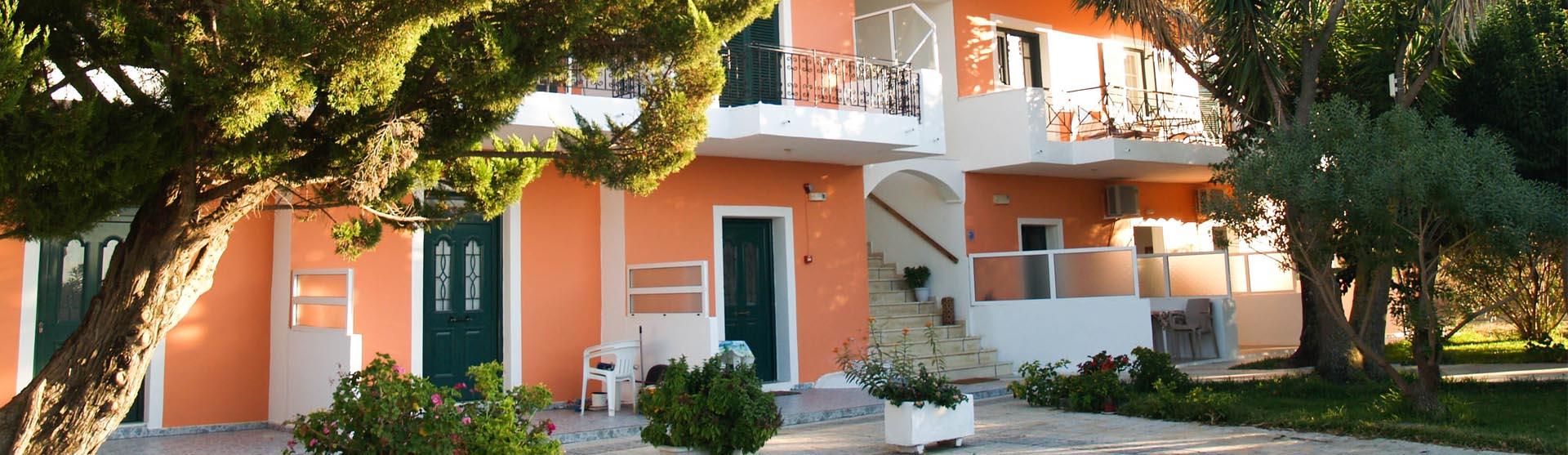 Lefkada Apartments & Studios Lazaris Contact